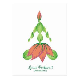 (Lotus Posture I) Postcard