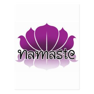 Lotus Purple Postcard