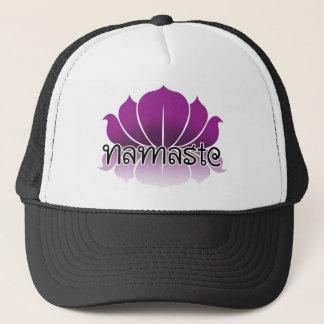 Lotus Purple Trucker Hat