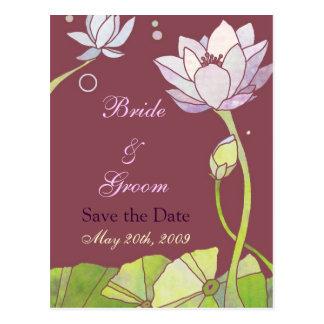 Lotus que casa reserva las postales de la fecha