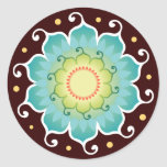 Lotus Radiant Stickers