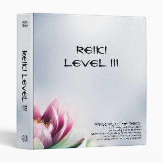 Lotus Reiki III Coursework y carpeta el meter en