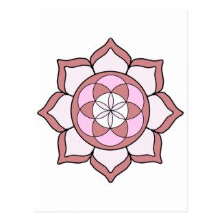 Lotus Rose3 Postales