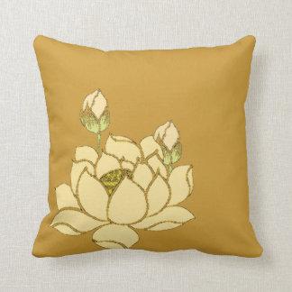 Lotus sagrado almohadas