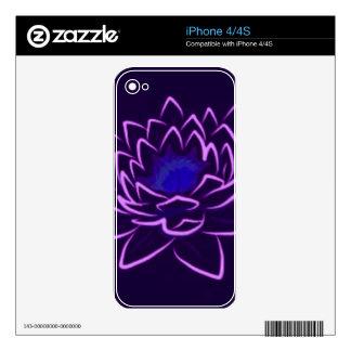 Lotus sagrado skin para el iPhone 4