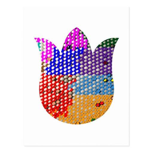 LOTUS: Símbolo de la paz y de la pureza Tarjeta Postal