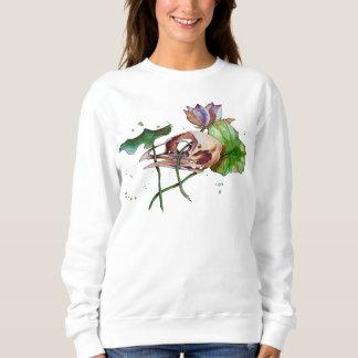 lotus&skull sweatshirt