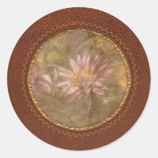 Lotus -  Soaking in Sunlight Classic Round Sticker