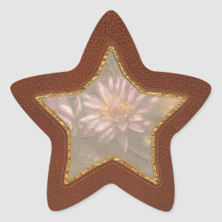 Lotus -  Soaking in Sunlight Star Sticker