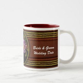 Lotus -  Soaking in Sunlight Two-Tone Coffee Mug