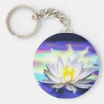 Lotus sobrenatural llaveros personalizados