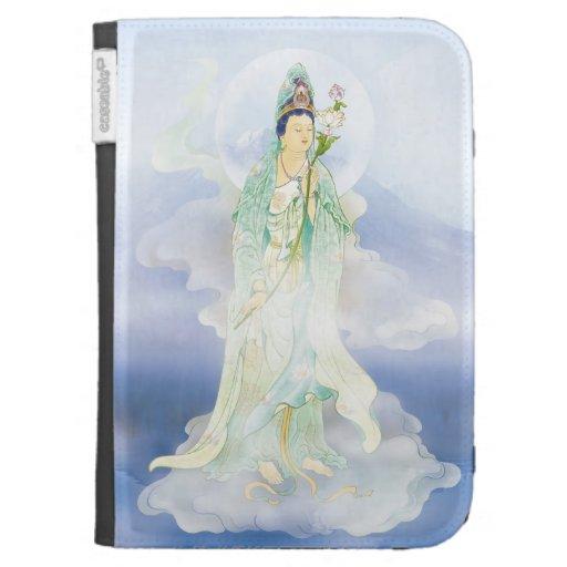 Lotus-sostener el caso de Avalokitesvara Caseable