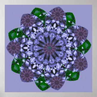 Lotus Star Print