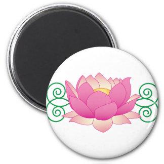 Lotus Swirl Magnet
