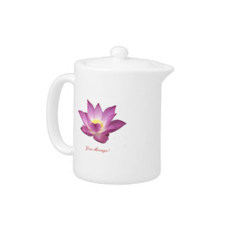 Lotus Teapot