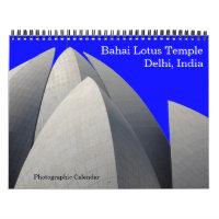 lotus temple 2021 calendar