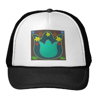 LOTUS Temple Art Refreshing Healing Colors GIFTS Trucker Hat