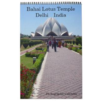 lotus temple delhi calendar