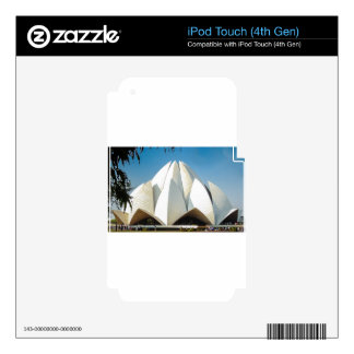 Lotus Temple iPod Touch 4G Decals