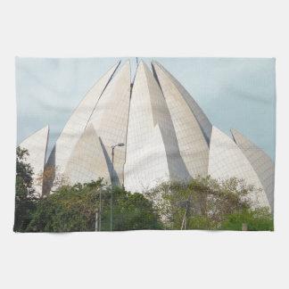 Lotus Temple New Delhi India Bahá'í House Worship Towel