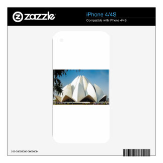 Lotus Temple Skin For iPhone 4S