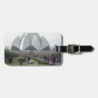Lotus Temple Tag For Bags