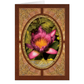Lotus - The Lotus Blossom Stationery Note Card