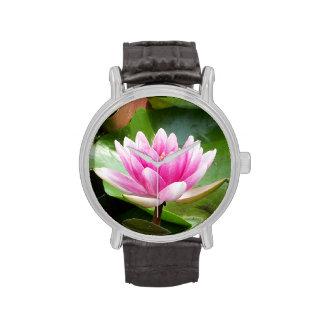 Lotus tranquilo relojes de mano