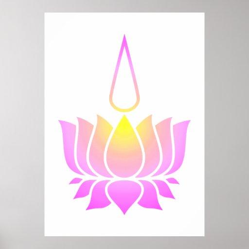 Lotus ultravioleta poster