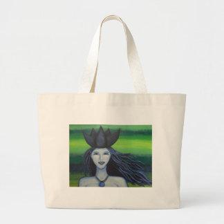 Lotus Underwater Nymph Jumbo Tote Bag