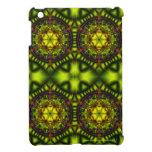 Lotus verde iPad mini protectores