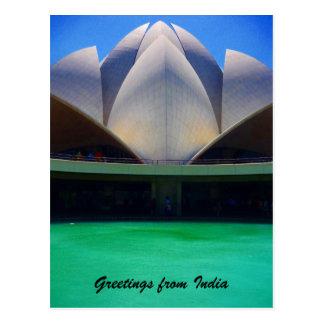 lotus water postcard