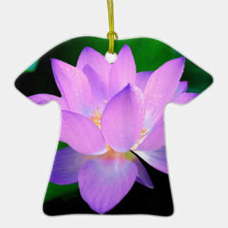 lotus water romantic date bridal peace hope love Double-Sided T-Shirt ceramic christmas ornament