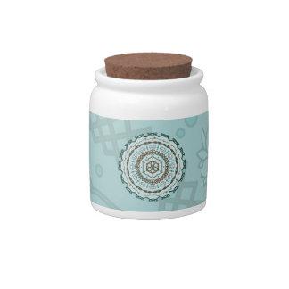 Lotus Weave Candy Jar