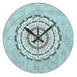 Lotus Weave Clock