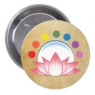 Lotus with chakra button