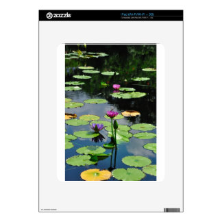 Lotus with DragonFly iPad Decals