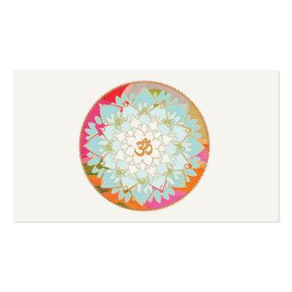 Lotus y tarjeta de visita de los artes curativos d