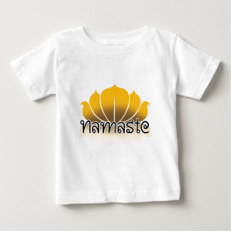 Lotus Yellow Baby T-Shirt