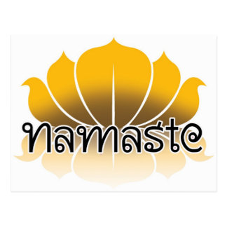 Lotus Yellow Postcard