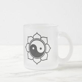 Lotus Yin Yang Mugs