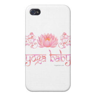 Lotus yoga baby iPhone 4/4S cover