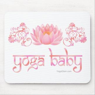 Lotus yoga baby mousepad