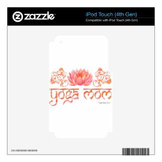 Lotus yoga mom skin for iPod touch 4G