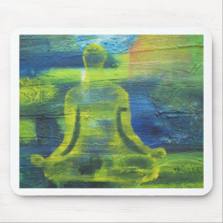 Lotus Yoga Pose Original Health Exercise Modern Mouse Pad