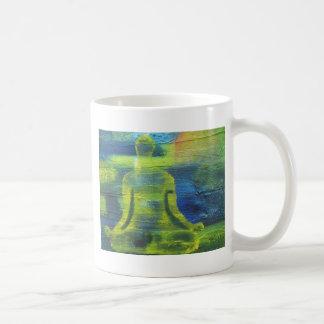 Lotus Yoga Pose Original Health Exercise Modern Coffee Mug