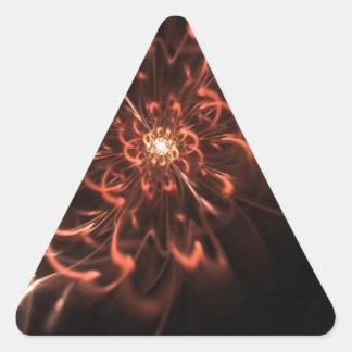lotusburst triangle sticker