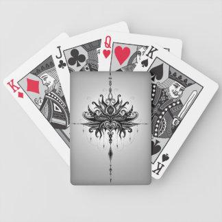 Lotusmandala Bicycle Playing Cards