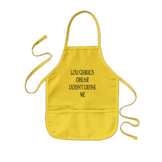 Lou Gehrig's Disease Doesn't Define Me Kids' Apron