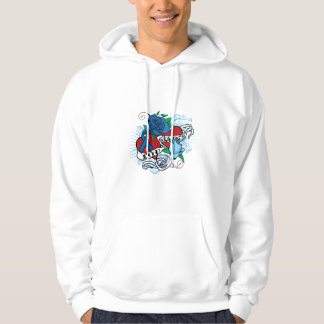 Lou Gehrigs Twin Hearts Tattoo Hoodie